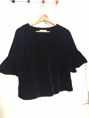 Mango Blouse topje zwart