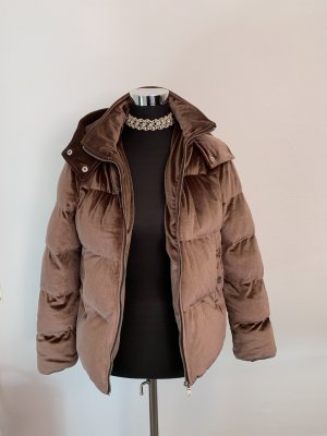 Boohoo Winter Jacket dusky pink-pink