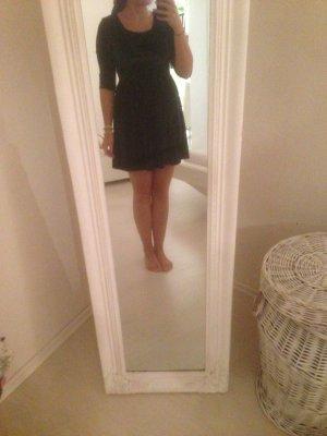 Samtblaues  Kleid von SheInside