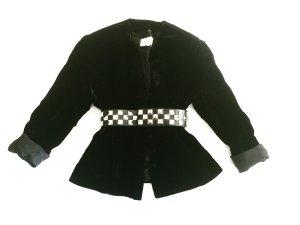samtblazer / black velvet / true vintage / evelin brandt berlin