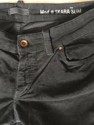 Marc O'Polo Stretch broek donkerblauw Katoen
