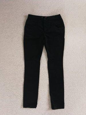 Buena Vista Pantalone a vita alta nero