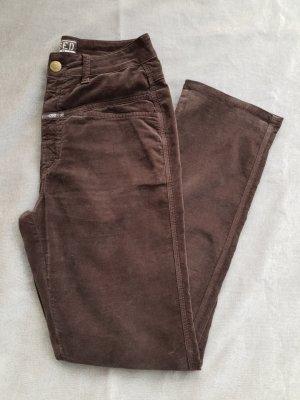 Closed Trousers dark brown