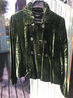 David Jones Between-Seasons Jacket forest green viscose
