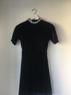 Topshop A Line Dress black