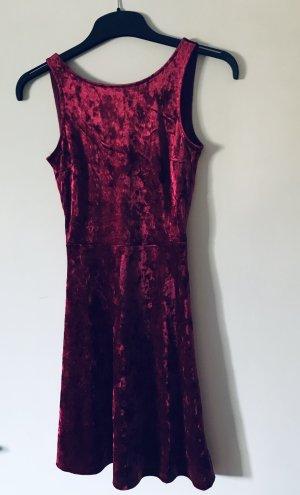 H&M Divided A Line Dress carmine