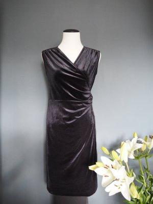 Samtkleid - Abendkleid - Gr. S