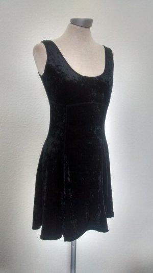 Samtkleid Gr. 38 M schwarz Miss Selfridge Samt Kleid gothic