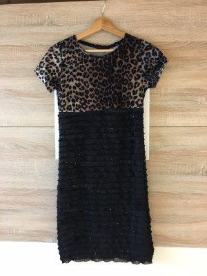 Sequin Dress black-cream