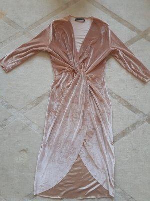 Zara Vestido cruzado multicolor