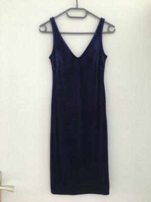 Forever 21 Vestido de tubo azul-azul oscuro