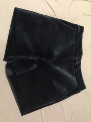 Hallhuber High-Waist-Shorts black