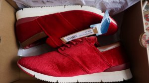 """Samtsneaker KLEINE/ schmale Gr. 39 Neu mit Etikett! """"MO:VEL"""""""
