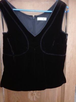Comma Haut type corsage noir