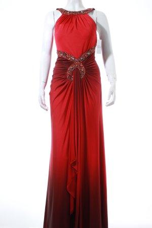 San Fiore Abendkleid rot-dunkelrot Farbverlauf Eleganz-Look