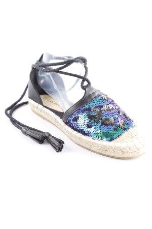San Marina Espadrilles-Sandalen mehrfarbig extravaganter Stil