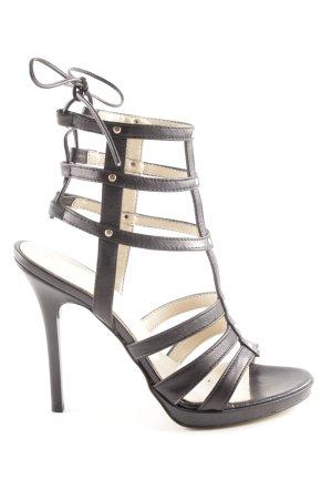 San Marina High Heel Sandaletten braun Casual-Look