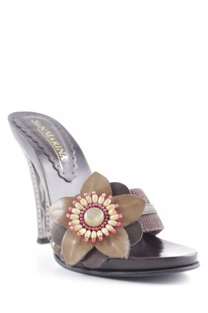San Marina High Heel Sandal multicolored Gypsy style