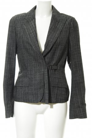 Sand Boyfriend Blazer dark grey-light grey flecked business style
