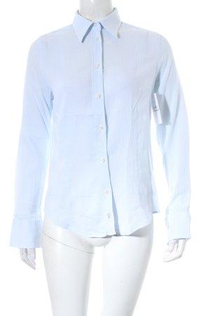 Sand Hemd-Bluse hellblau klassischer Stil