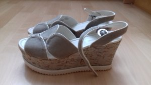 Gerry Weber Platform High-Heeled Sandal light grey