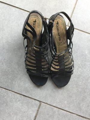 Tamaris Sandalen met bandjes zwart