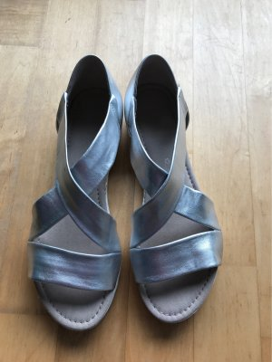 Gabor Comfort Sandals silver-colored