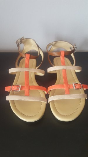 Strapped Sandals multicolored