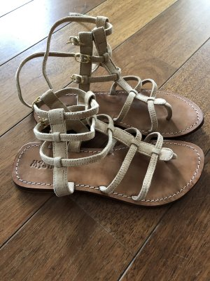 Romeinse sandalen nude