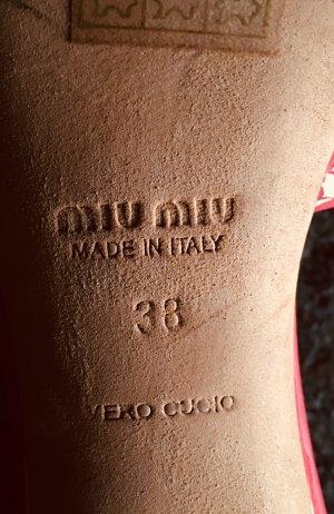 Miu Miu Sandalo con cinturino multicolore