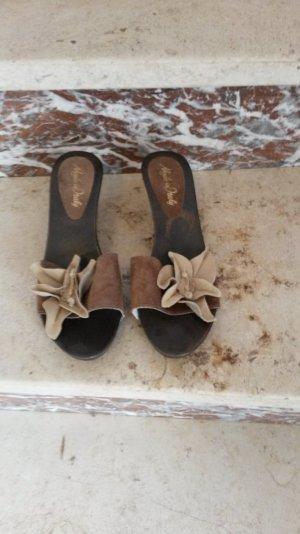 Sandale für Damen mit schönem dicken Absatz