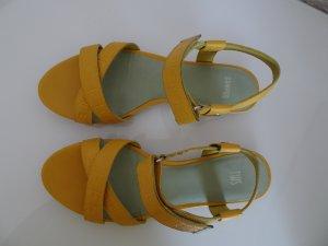Sandale gelb Größe 36