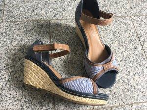 Sandale Gr. 38 Keilabsatz