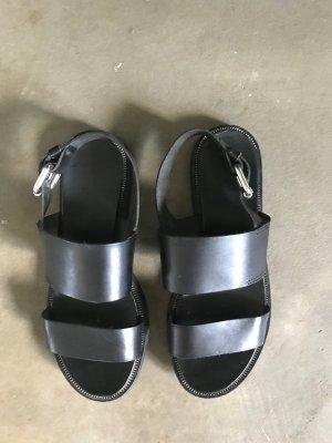 & other stories Comfort Sandals black leather