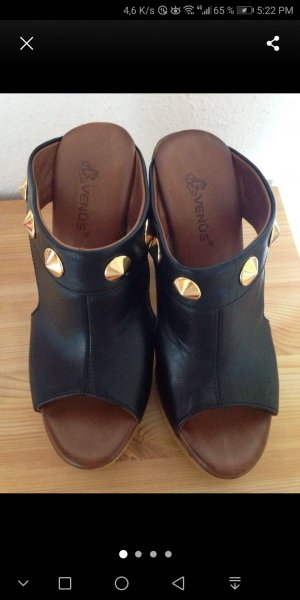 Sandales à talon haut noir