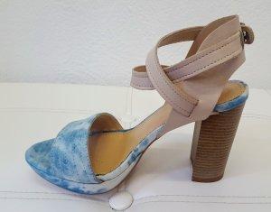 Sandale in Jeansoptik