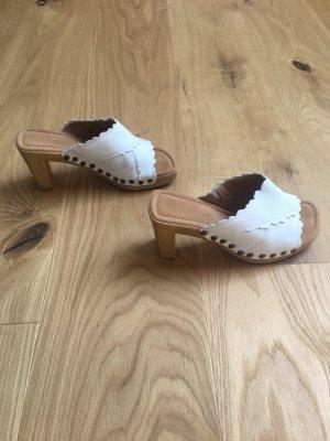 Gabor Clog Sandals white