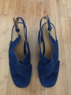 Sandale mit Blockabsatz