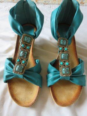 Sandalo outdoor multicolore Finta pelle