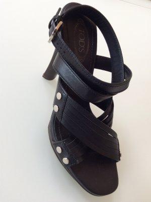Sandale mit Plateau