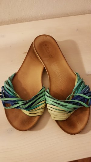 Inuovo Strapped High-Heeled Sandals multicolored