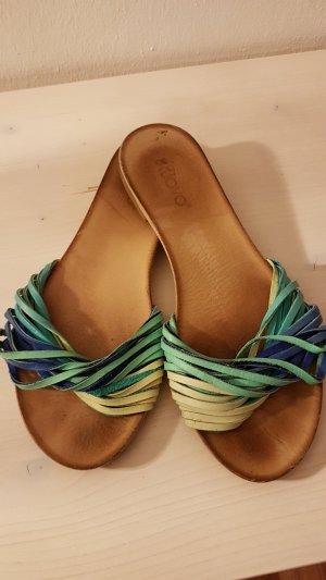 Inuovo Sandalo con cinturino e tacco alto multicolore
