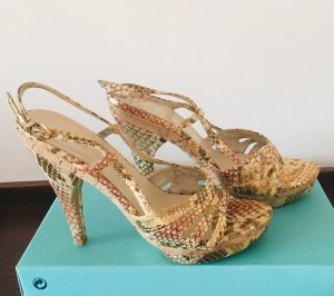 100% Fashion Plateauzool sandalen veelkleurig