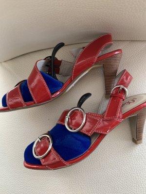 s.Oliver High Heel Sandal red