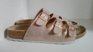 Comfort Sandals rose-gold-coloured