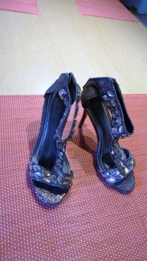Sandale von Amisu große 38 in Bronze