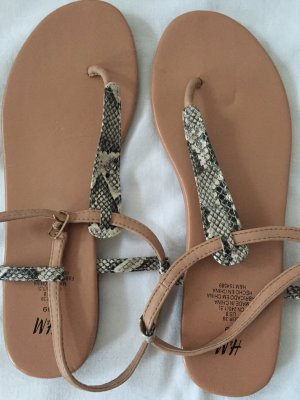 Sandale von H und M, In 39