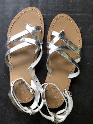 Sandale White Sun Silber Gr. 36