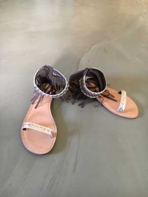 Tamaris Roman Sandals black brown-gold-colored