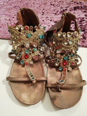 Roman Sandals bronze-colored-gold-colored
